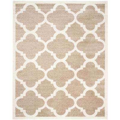 Amherst Wheat Beige 8 Ft X 10 Indoor Outdoor Area Rug