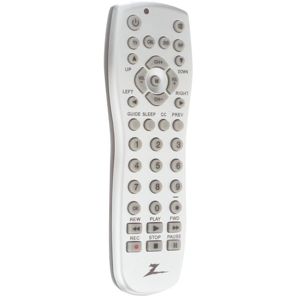 3-Device Universal Remote in Silver