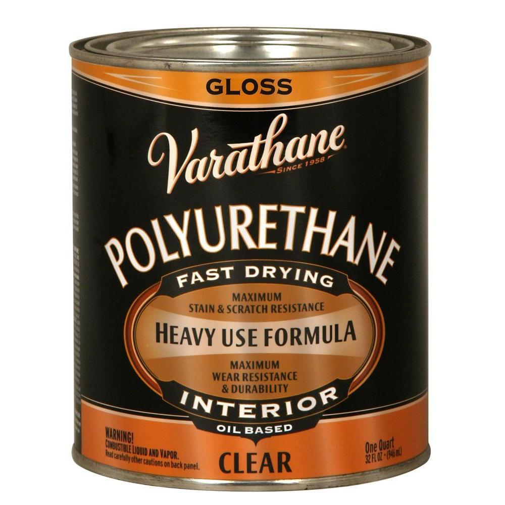 1 qt. Clear Gloss Oil-Based Interior Polyurethane