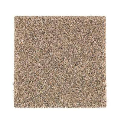 Carpet Sample - Maisie I - Color Minimal Grey Texture 8 in. x 8 in.