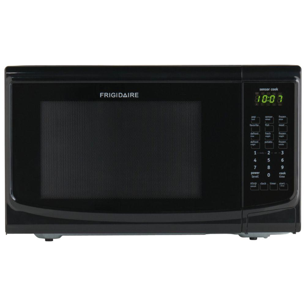 Frigidaire 1 4 Cu Ft Countertop Microwave In Black