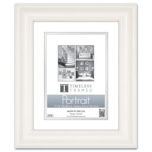 e5397c2c597 Timeless Frames Lauren 1-Opening 16 in. x 20 in. Pure White Matted ...