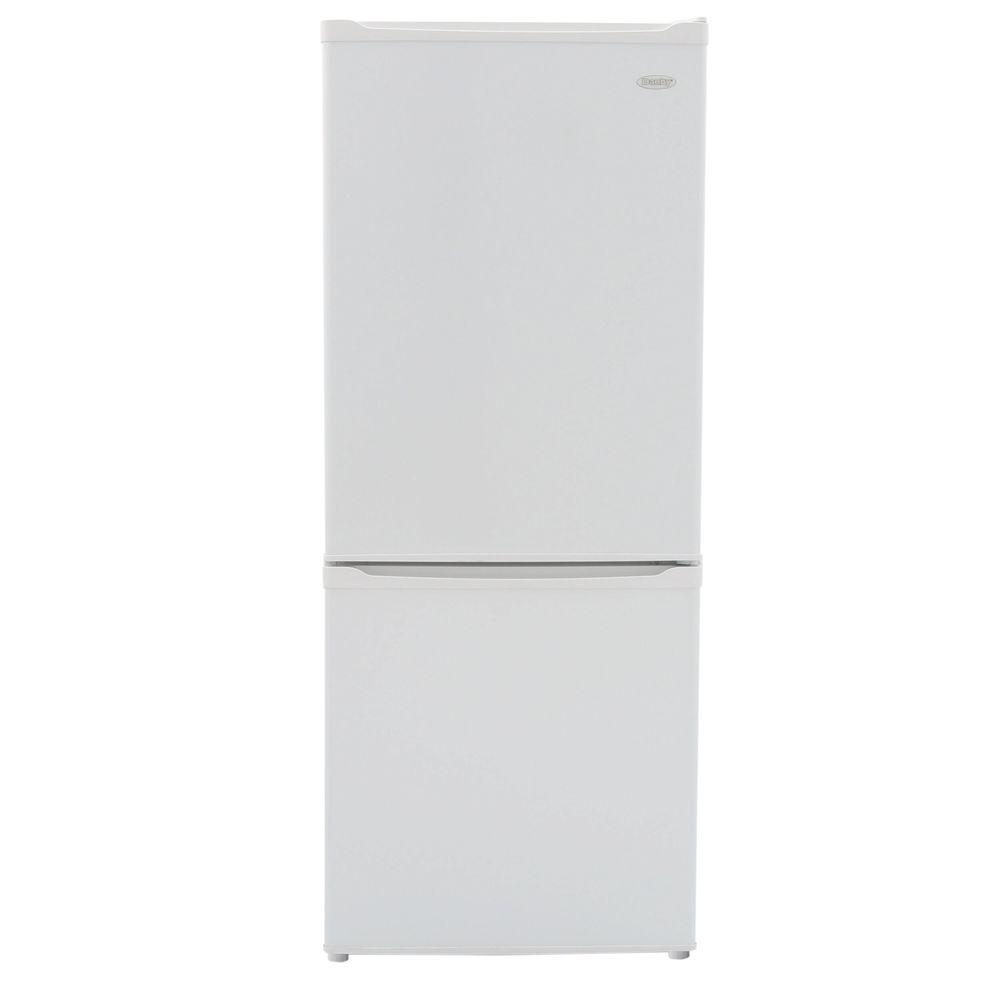 Danby 24 in. W 9.2 cu. ft. Bottom Freezer Refrigerator in...