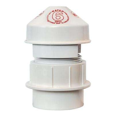 1-1/2 in. PVC 6 DFU Air Admittance Valve