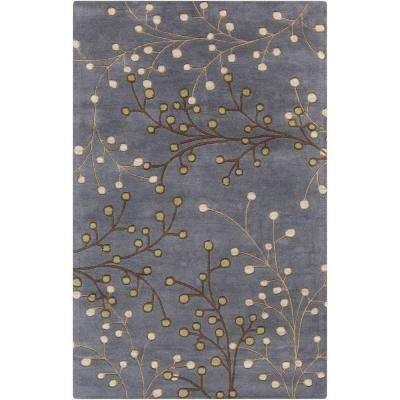 Aloysia Charcoal 7 ft. 6 in. x 9 ft. 6 in. Indoor Area Rug