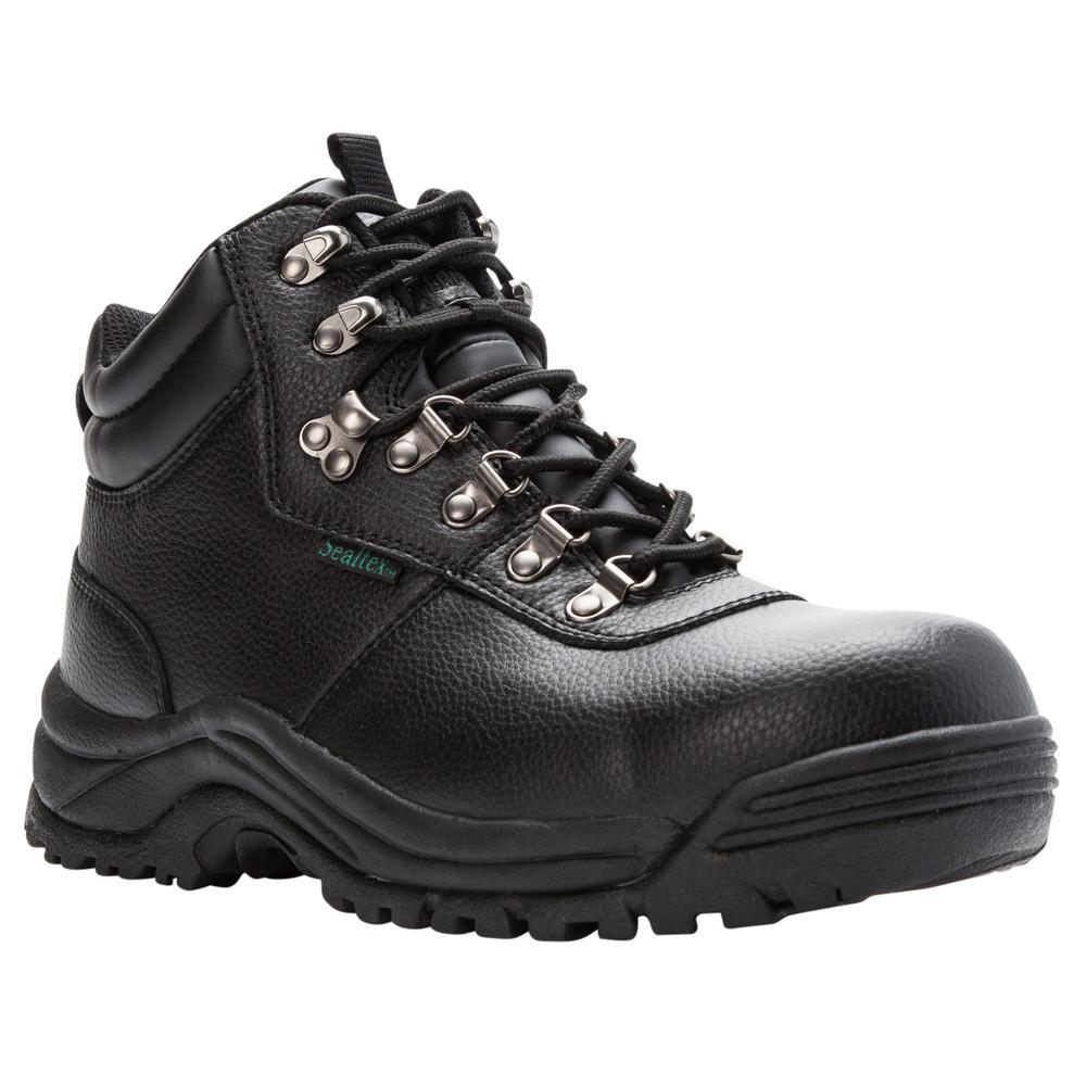 genuine classic shoes choose best Propet Shield Walker Mens Size 10 Wide (5E) Black Work Boot