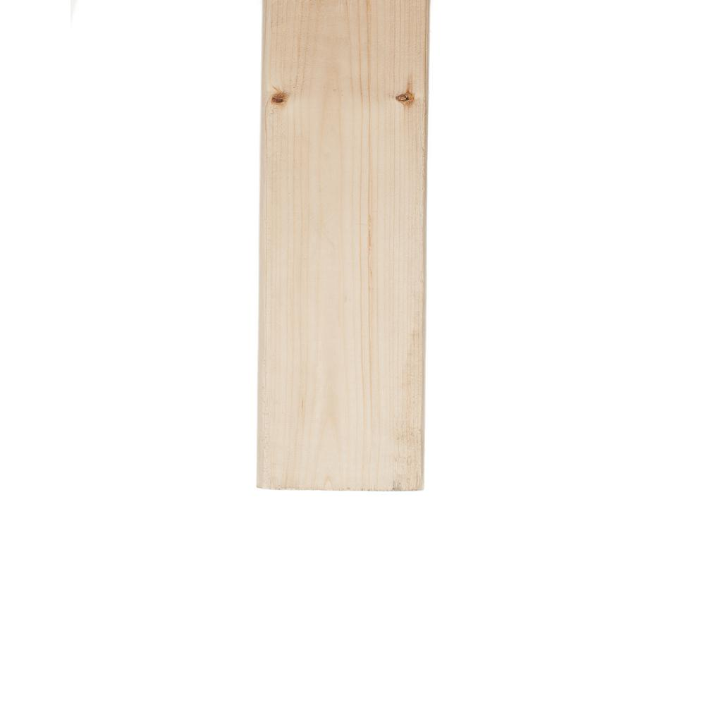 2 in  x 4 in  x 84 in  Prime Kiln-Dried Whitewood Stud-915319 - The