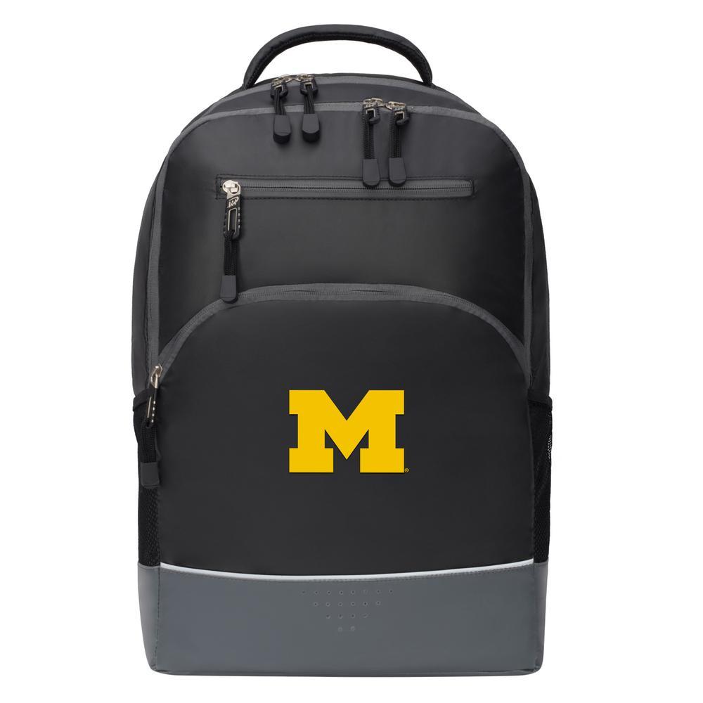 Michigan 19 in. Black Alliance Backpack