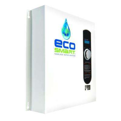 24 kW Self-Modulating 4.6 GPM Electric Tankless Water Heater