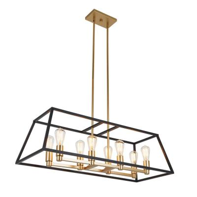 Carter 8-Light Black Chandelier