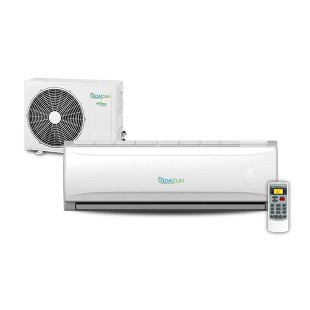 Daizuki 18,000 BTU 1.5 Ton Ductless Mini Split Air Conditioner and Heat Pump - 208-230V/60Hz