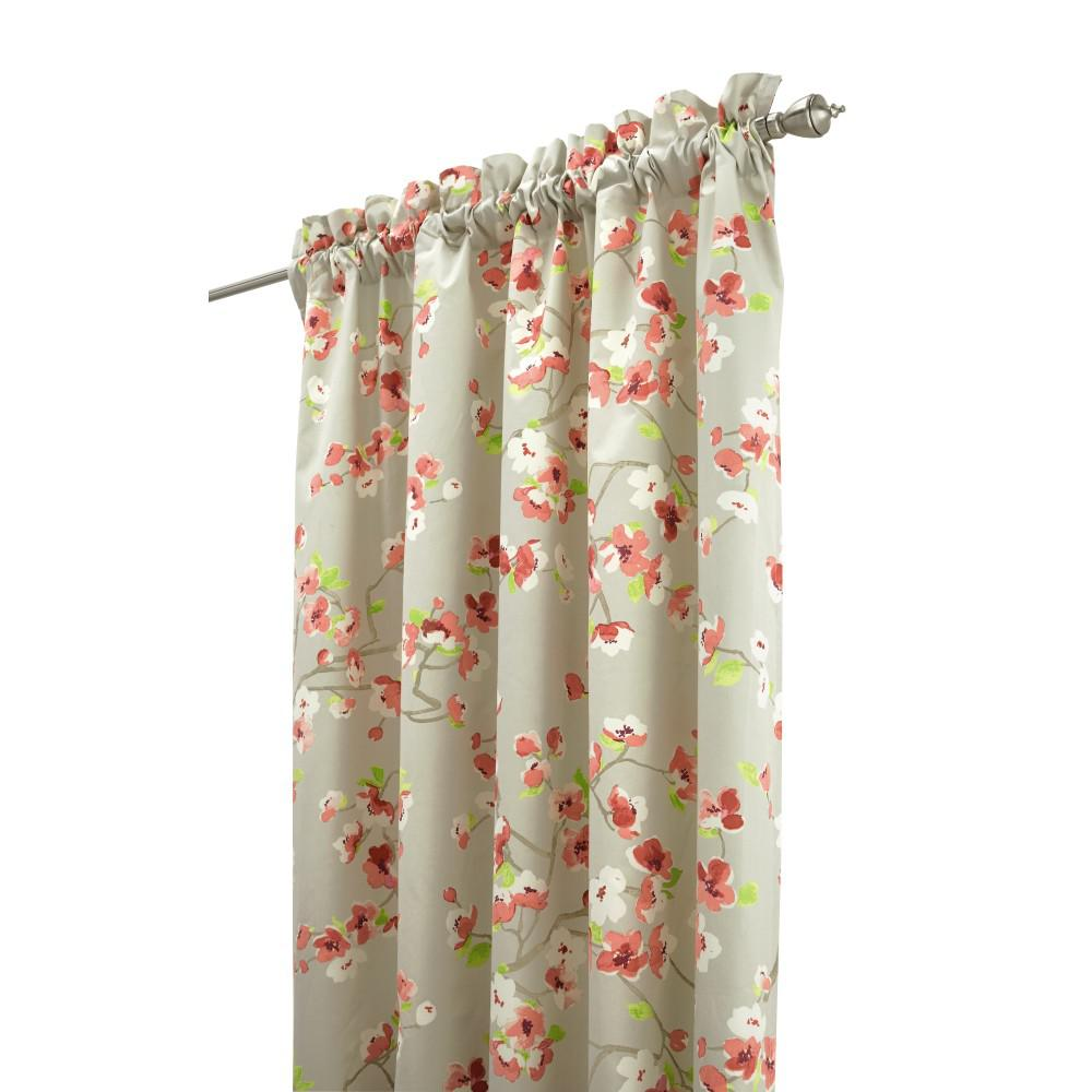 Sophisticated grey and pink shower curtain photos best inspiration home design Home decorators collection valance