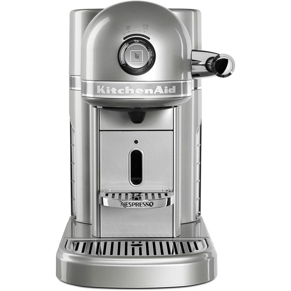 kitchenaid nespresso 5 cup espresso machine kes0503sr the home depot. Black Bedroom Furniture Sets. Home Design Ideas