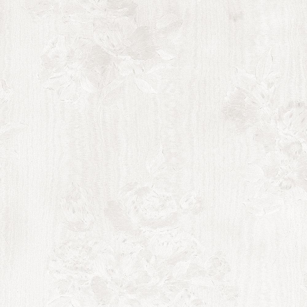Norwall In Register Floral Moir Wallpaper