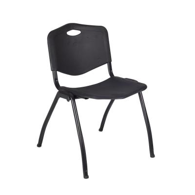 'M' Black Stack Chair