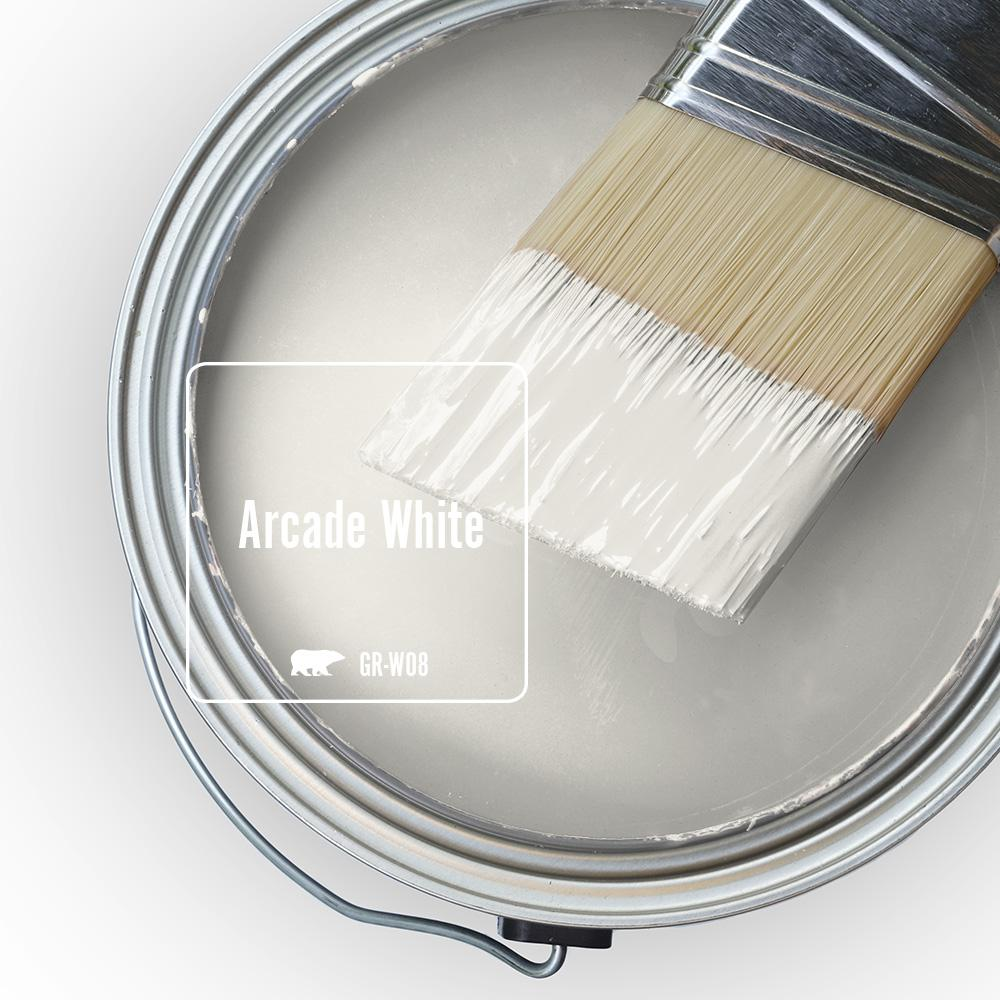 BEHR Arcade White paint color