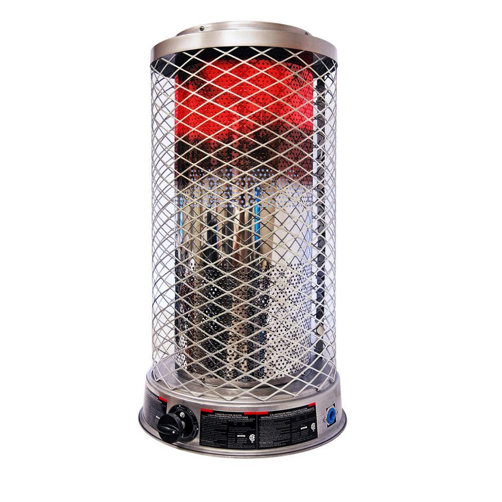 50K-100K BTU Natural Gas Radiant Portable Heater