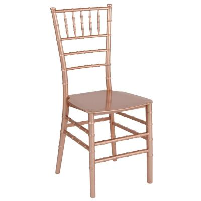 Rose Gold Side Chair