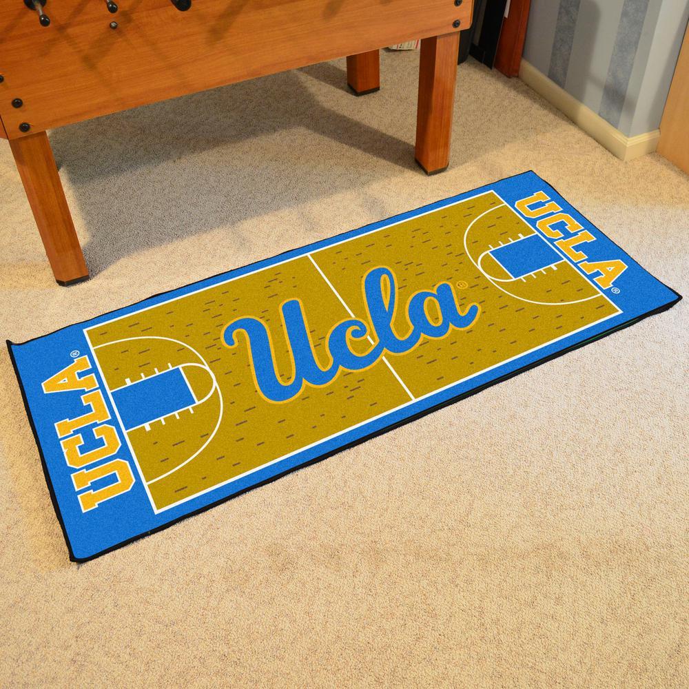 UCLA Los Angeles Bruins Starter Mat Rectangular Area Rug NCAA University of California