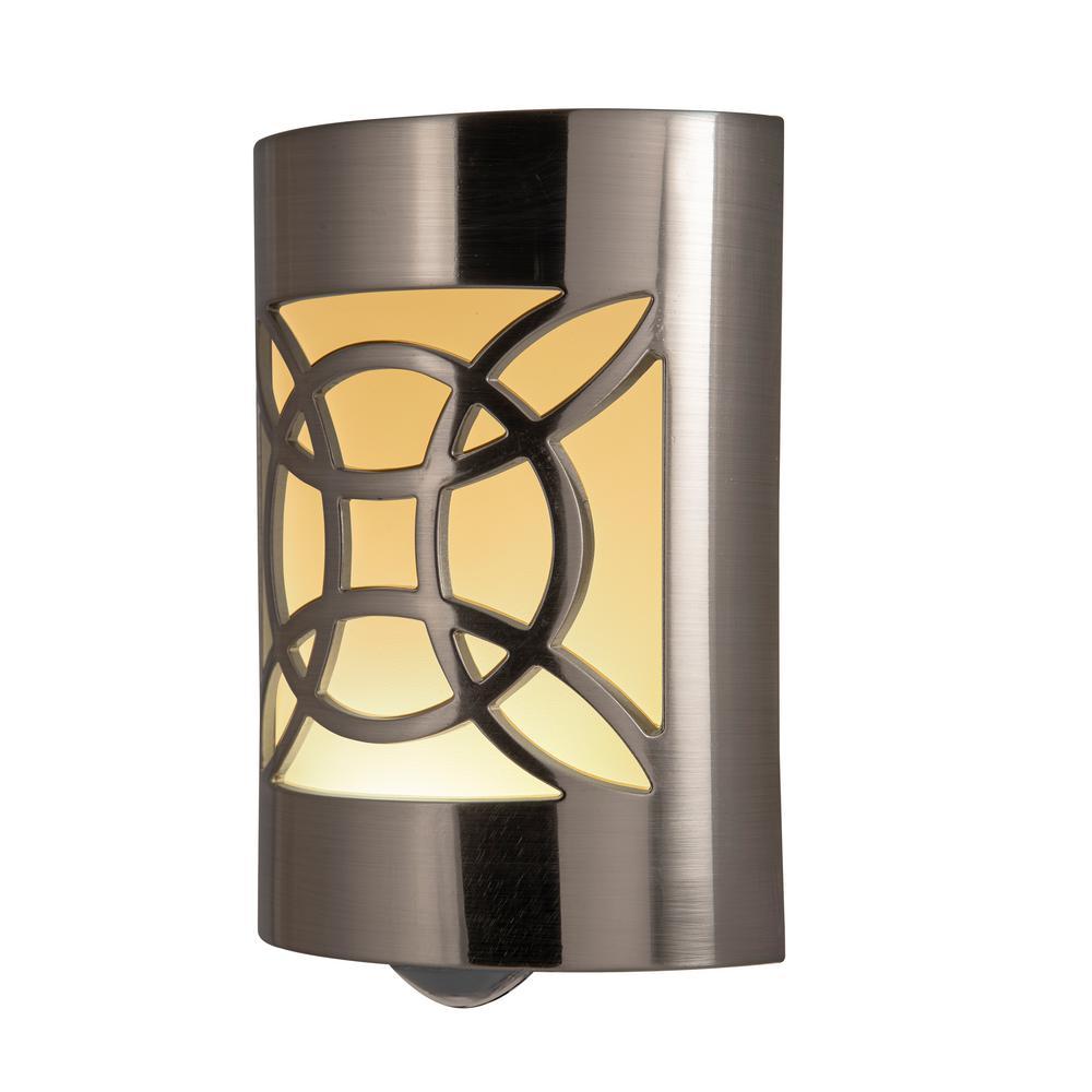 LED CoverLite Nickel Night Light