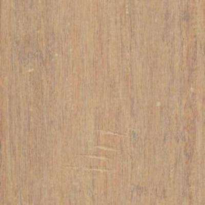 Take Home Sample - Hand Scraped Strand Woven Ashford Click Lock Bamboo Flooring - 5 in. x 7 in.