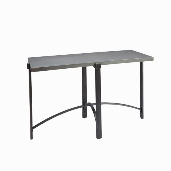 Silverwood Furniture Reimagined Lewis Bronze With Metal Top Console Table