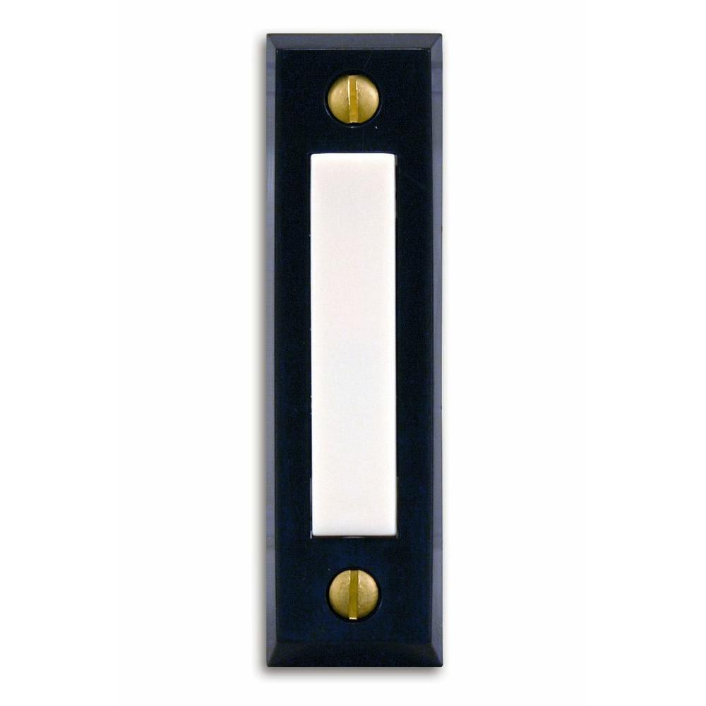 Heath Zenith Wired Unlighted Push Button-DISCONTINUED