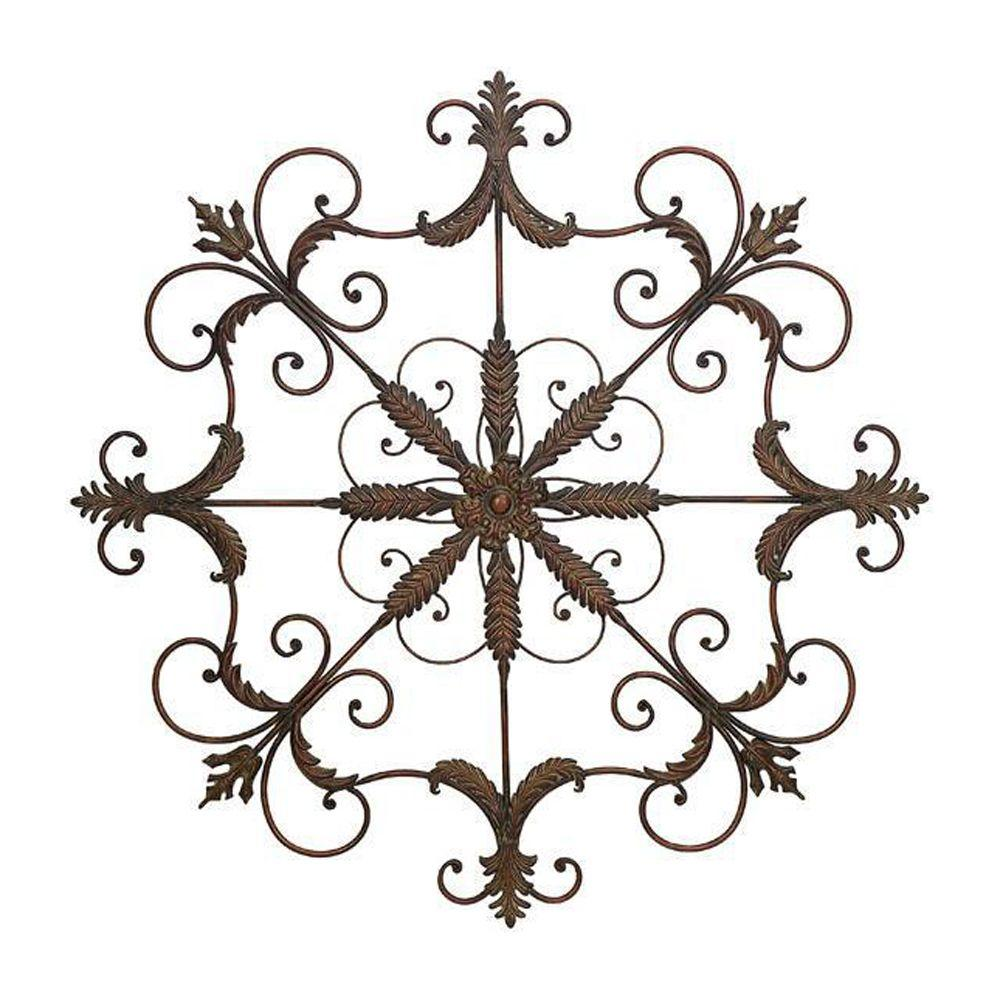 Home Decorators Collection Iron Scrolled Wall Plaque