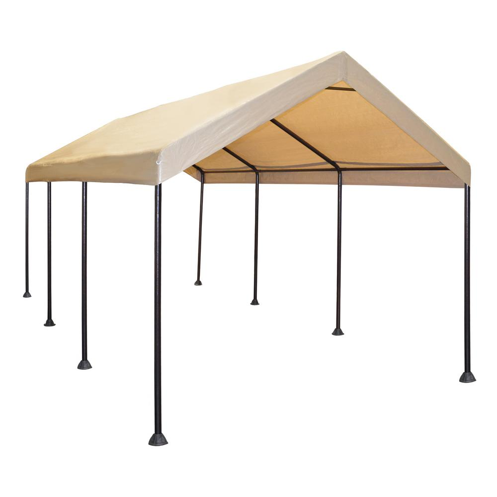 10 ft. x 20 ft. Mega Domain Carport