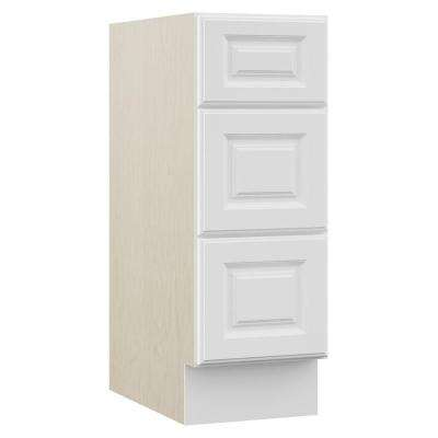 Cambridge 12 in. W x 21.5 in. D x 33.5 in. H Bath Vanity Cabinet Only in White