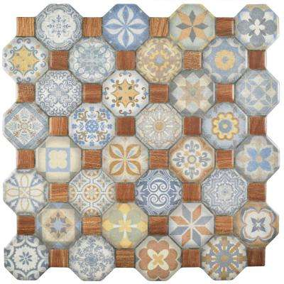 Tessera Multi 12-1/4 in. x 12-1/4 in. Ceramic Floor and Wall Tile (14.11 sq. ft. / case)