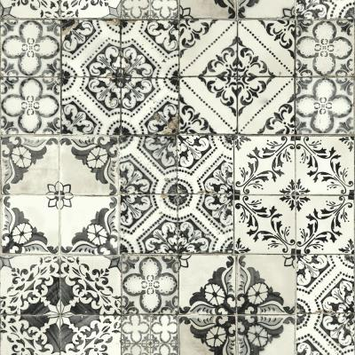 56 sq. ft. Outdoors in Mediterranean Tile Wallpaper