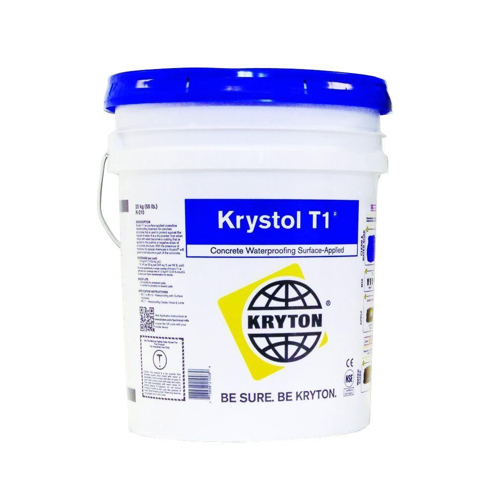 Krystol T1 5 gal. Surface-Applied Crystalline Waterproofing Application