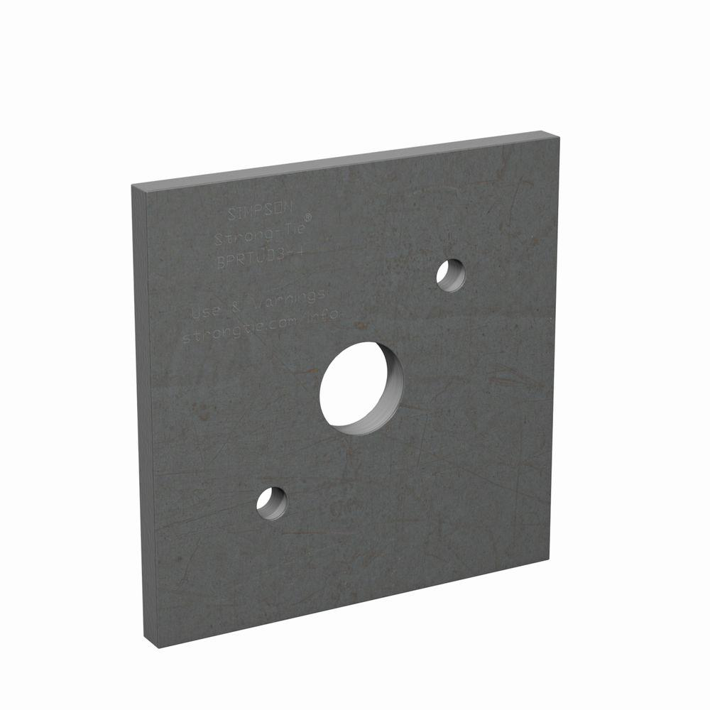 Simpson Strong-Tie Auto Bearing Plate for RTUD3 and RTUD4