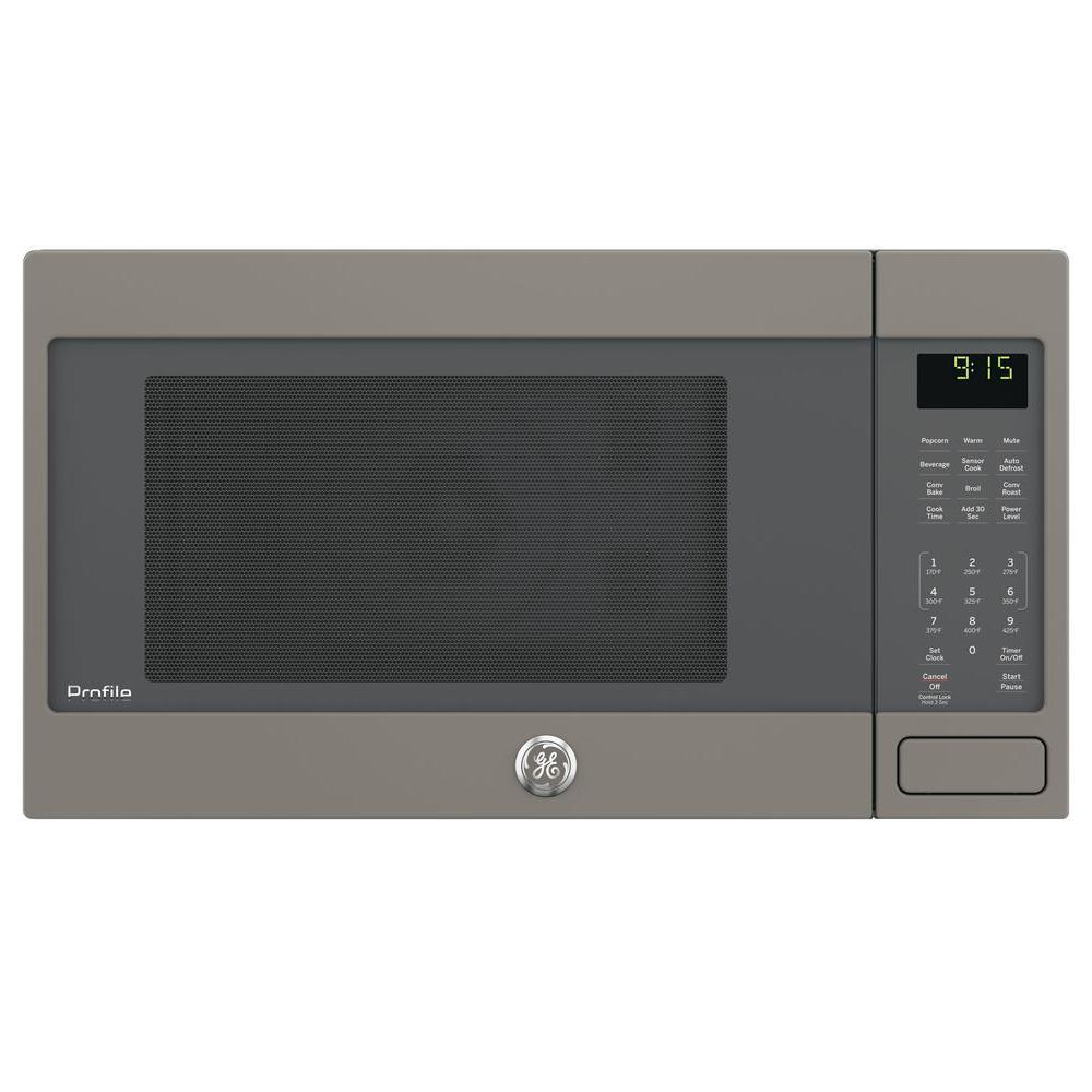 Countertop Convection Microwave Oven In Slate Fingerprint