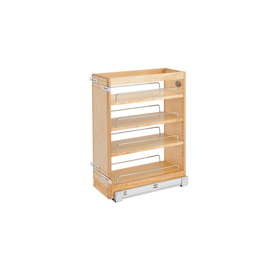 Rev-A-Shelf 8 in. Wood Vanity Pullout Cabinet Organizer with SC