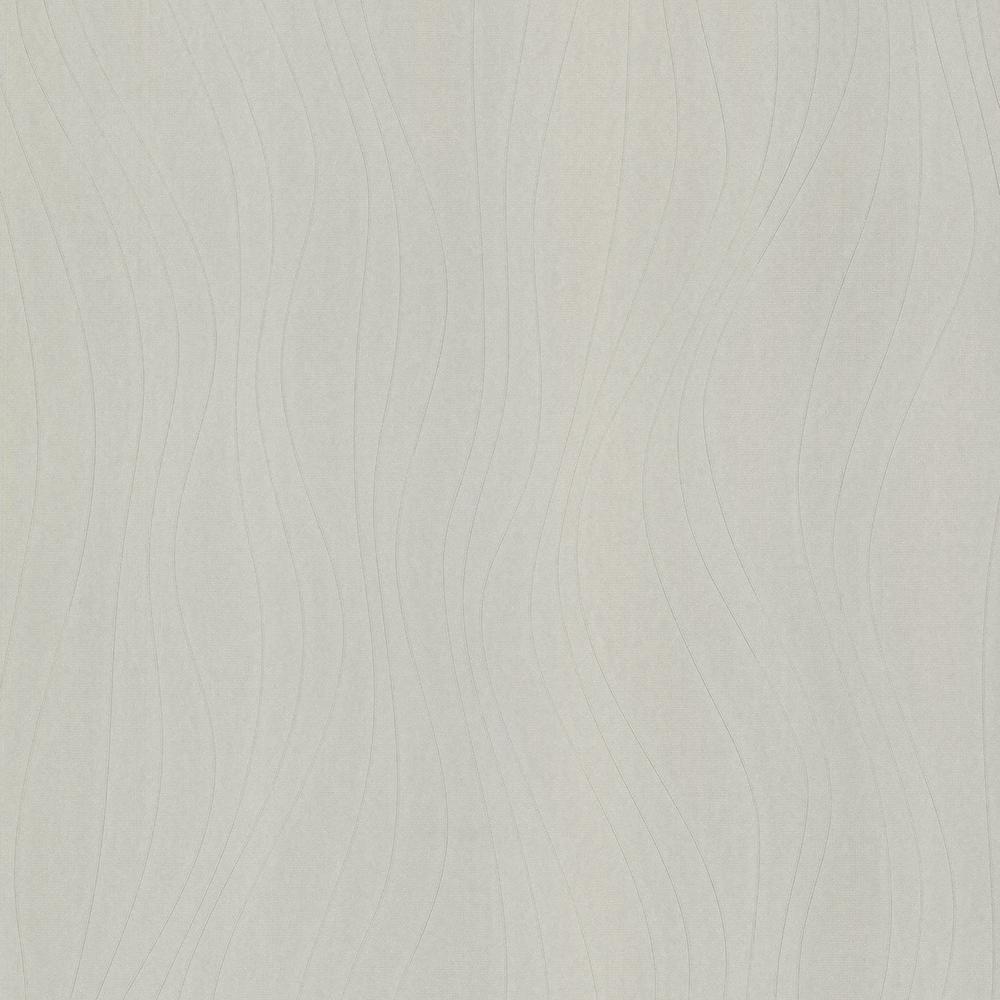 Advantage 56.4 sq. ft. Moxie Light Grey Line Texture Wallpaper 2773-928471