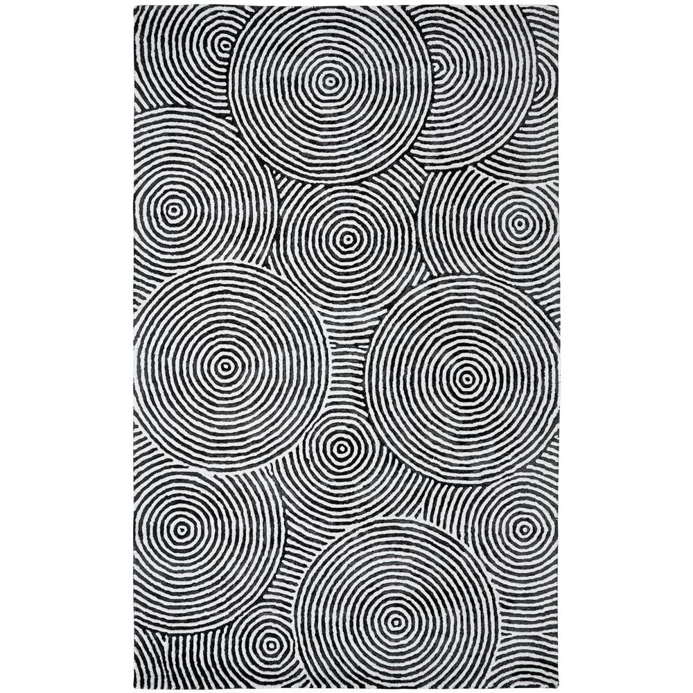 Dynamic Rugs Celeste Ivory/Carbon 2 ft. x 4 ft. Indoor Area Rug