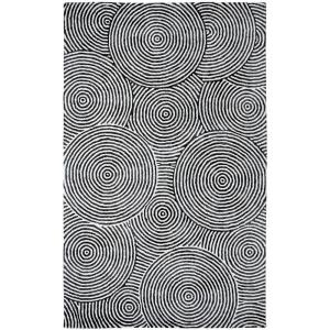 Dynamic Rugs Celeste Ivory/Carbon 5 ft. x 8 ft. Indoor Area Rug by Dynamic Rugs