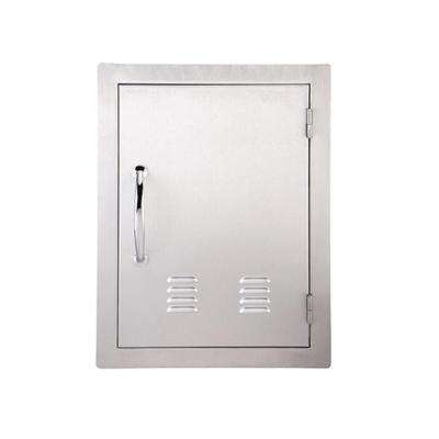 Classic Series 17 in. x 24 in. 304 Stainless Steel Vertical Access Door w/Vents