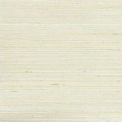 Luoma Off-White Grasscloth Wallpaper Sample