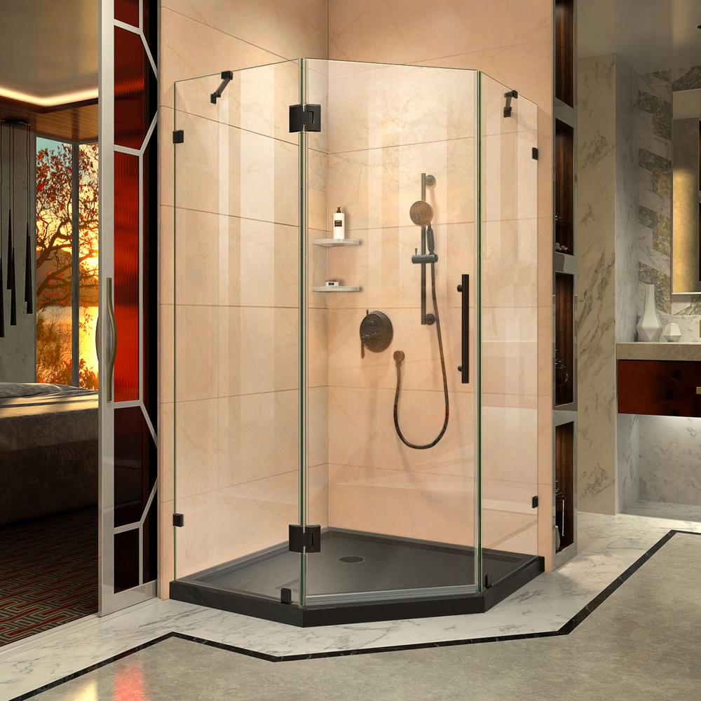 38 Inch Neo Angle Shower Kit Plumbing Fixtures Compare Prices At