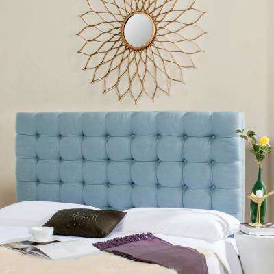 Lamar Slate Blue Queen Headboard