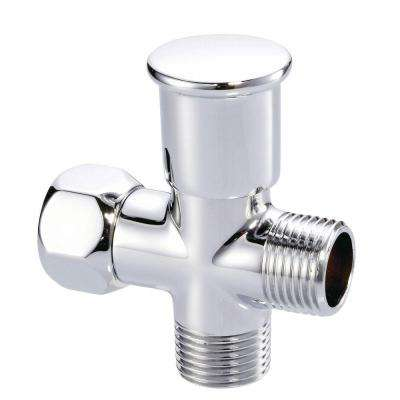 Push Pull Shower Arm Diverter in Chrome
