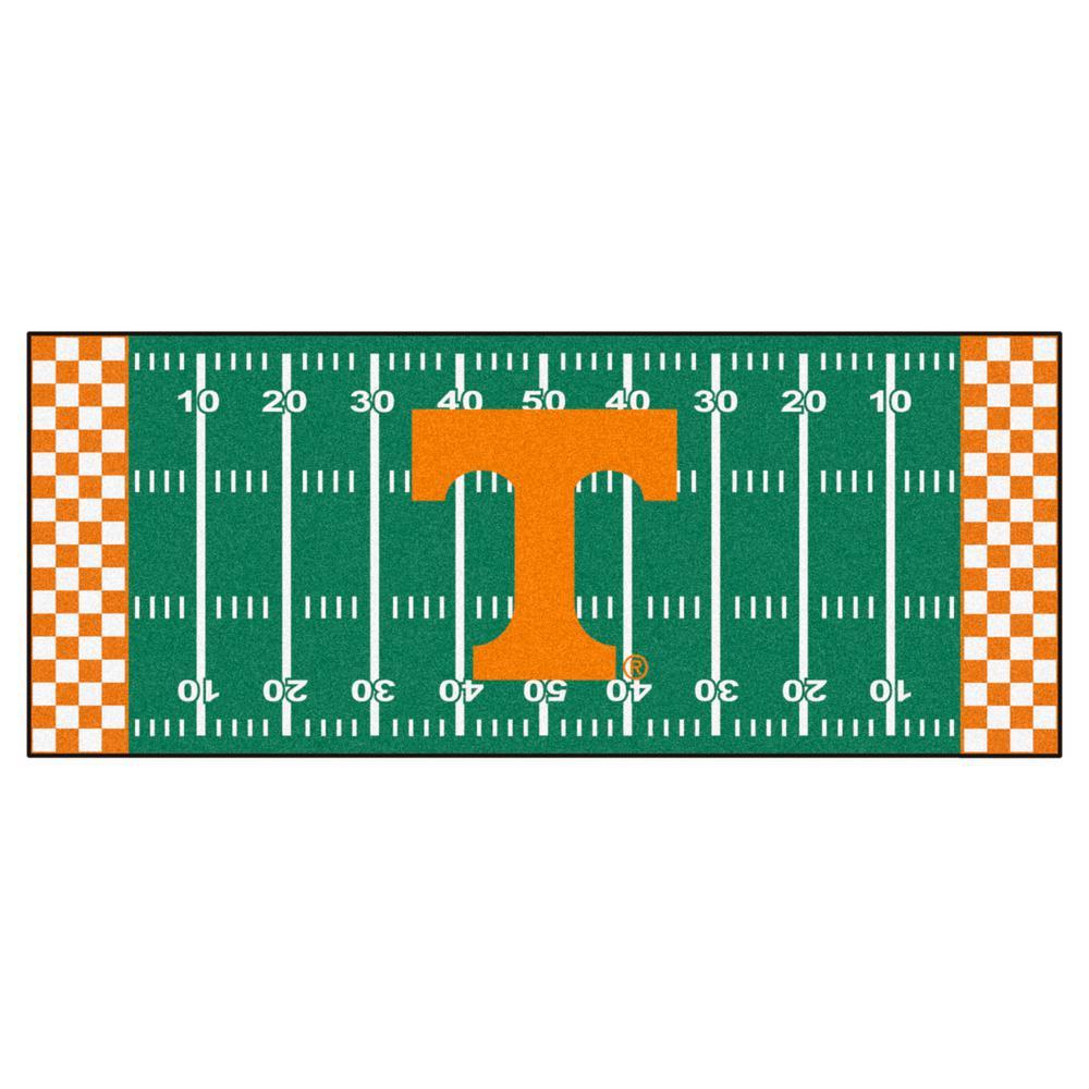 University of Tennessee 3 ft. x 6 ft. Football Field Runner Rug