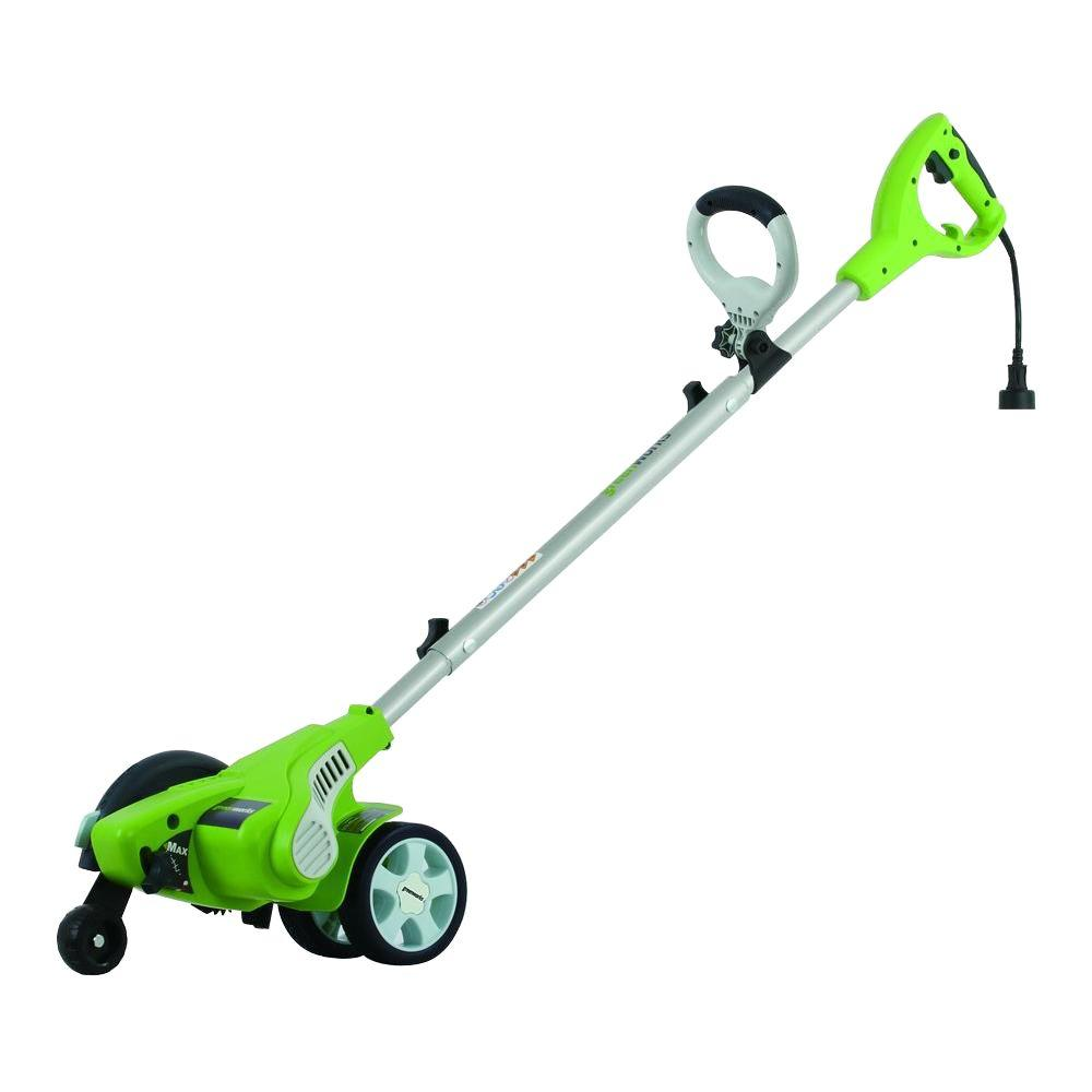 greenworks 7 5 in 12 amp walk behind electric edger 27032 the
