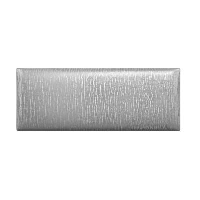 Metallic Silver Queen-Full Upholstered Headboards/Accent Wall Panels