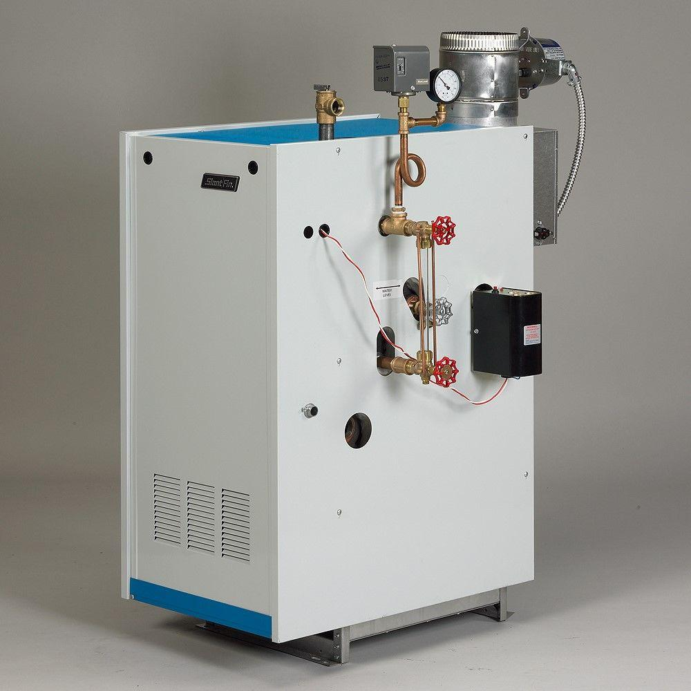Slant/Fin Galaxy Natural Gas Steam Boiler with 120,000 BTU Input ...