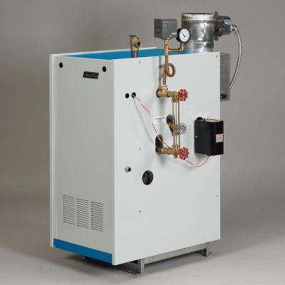 Galaxy Natural Gas Steam Boiler with 120,000 BTU Input 73,000 BTU Output Intermittent Electronic Ignition