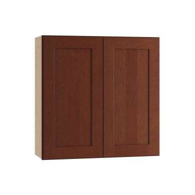 Exceptionnel Kingsbridge Assembled 36x30x12 In. Wall Double Door Cabinet ...